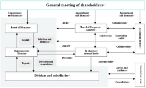 Diagram of Corporate Governance Structure